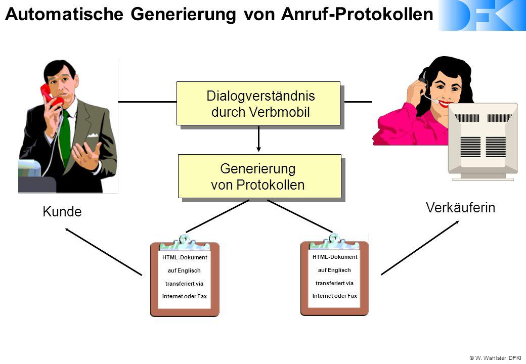 Automatische Generierung von Anruf-Protokollen