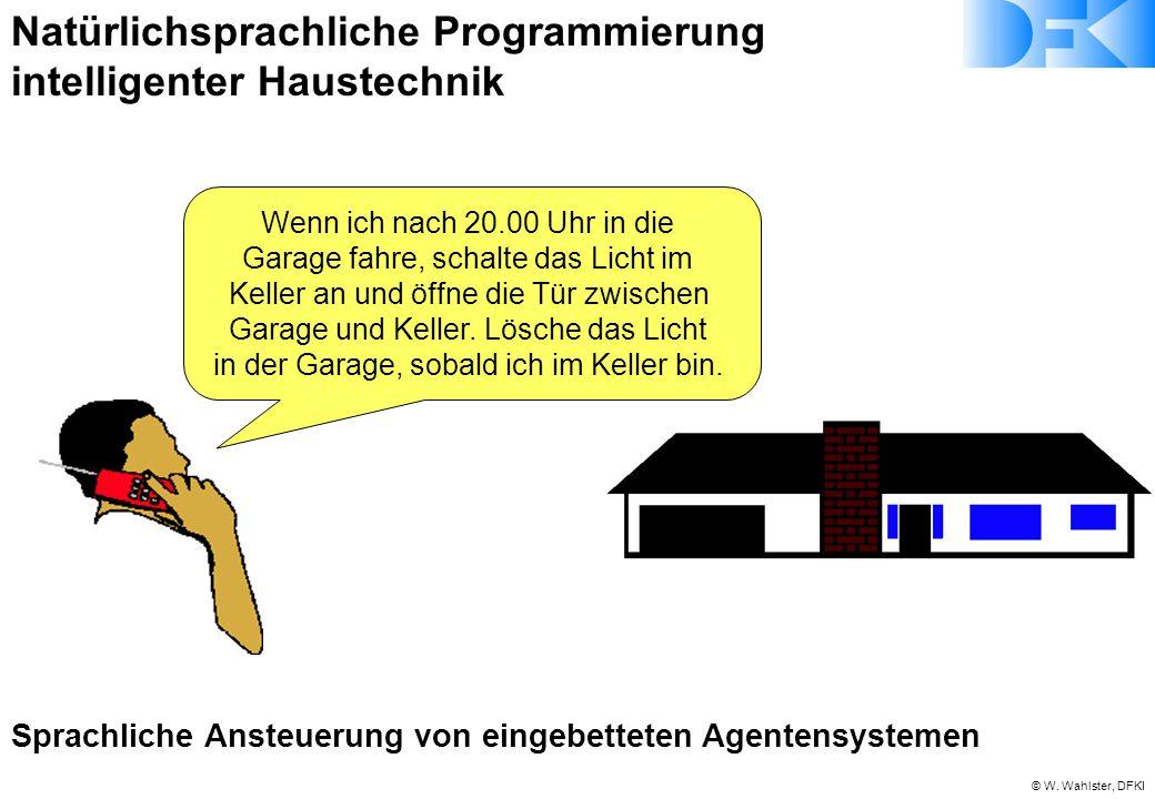 Natürlichsprachliche Programmierung intelligenter Haustechnik