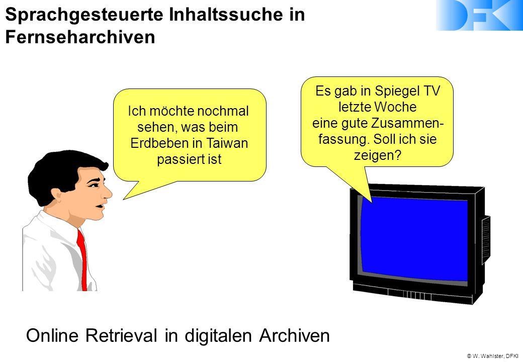Sprachgesteuerte Inhaltssuche in Fernseharchiven