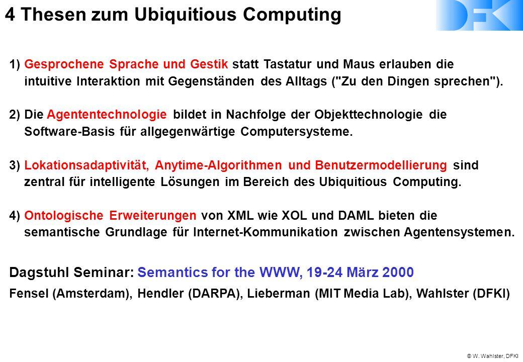 4 Thesen zum Ubiquitious Computing