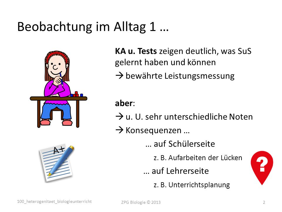 Beobachtung im Alltag 1 …