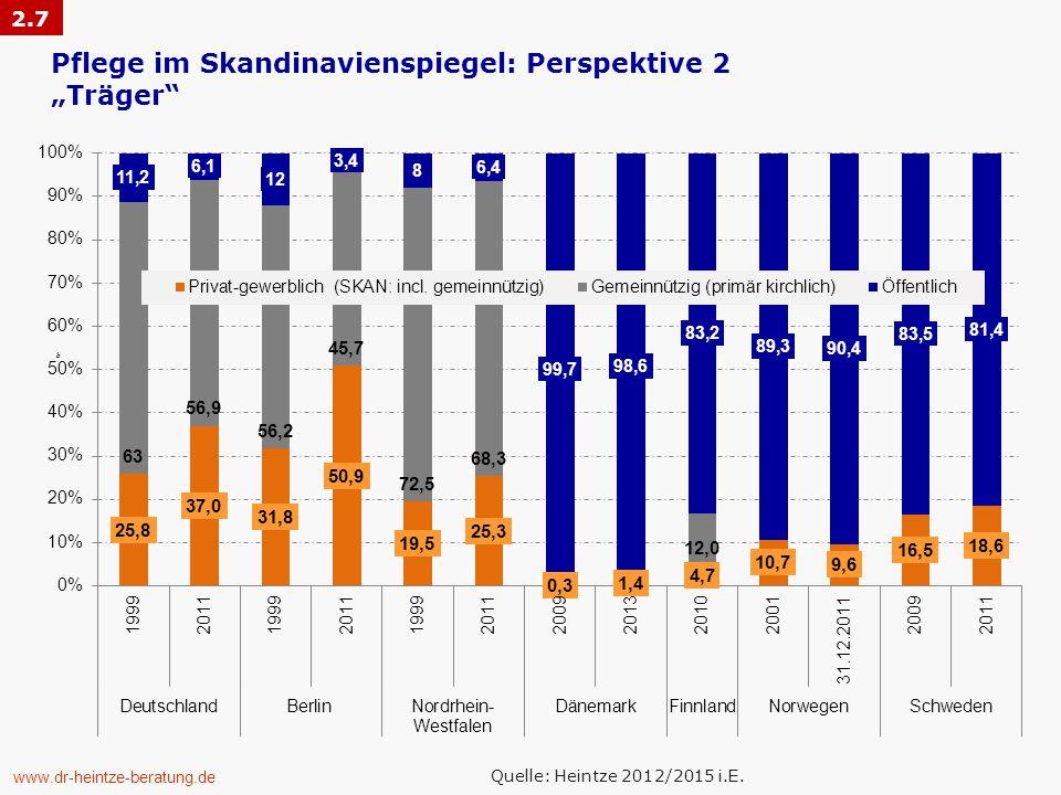 "Pflege im Skandinavienspiegel: Perspektive 2 ""Träger"