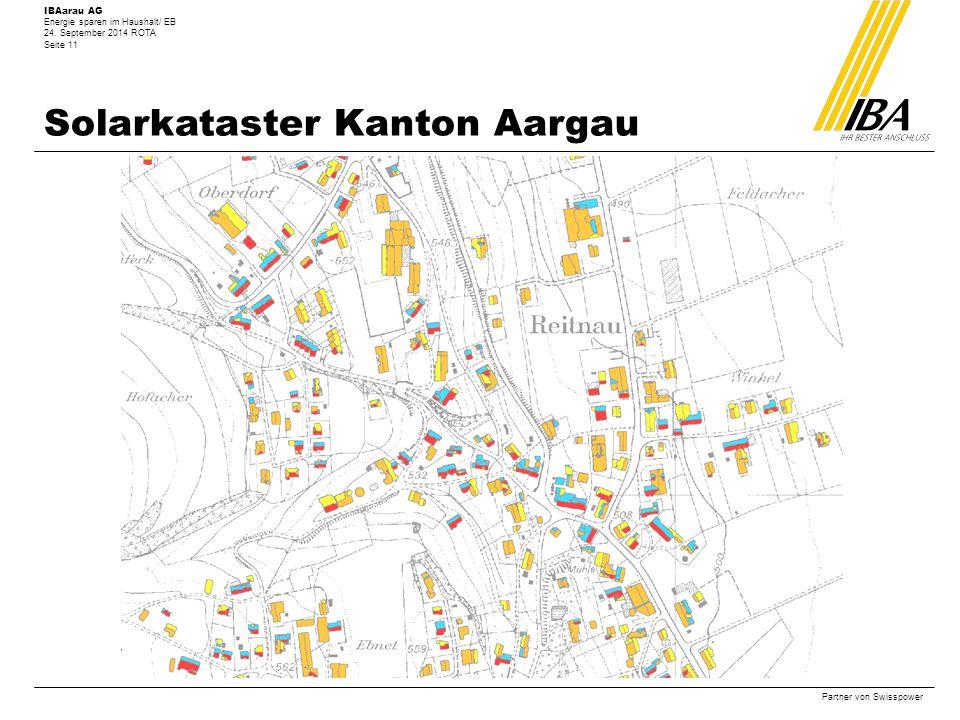 Solarkataster Kanton Aargau