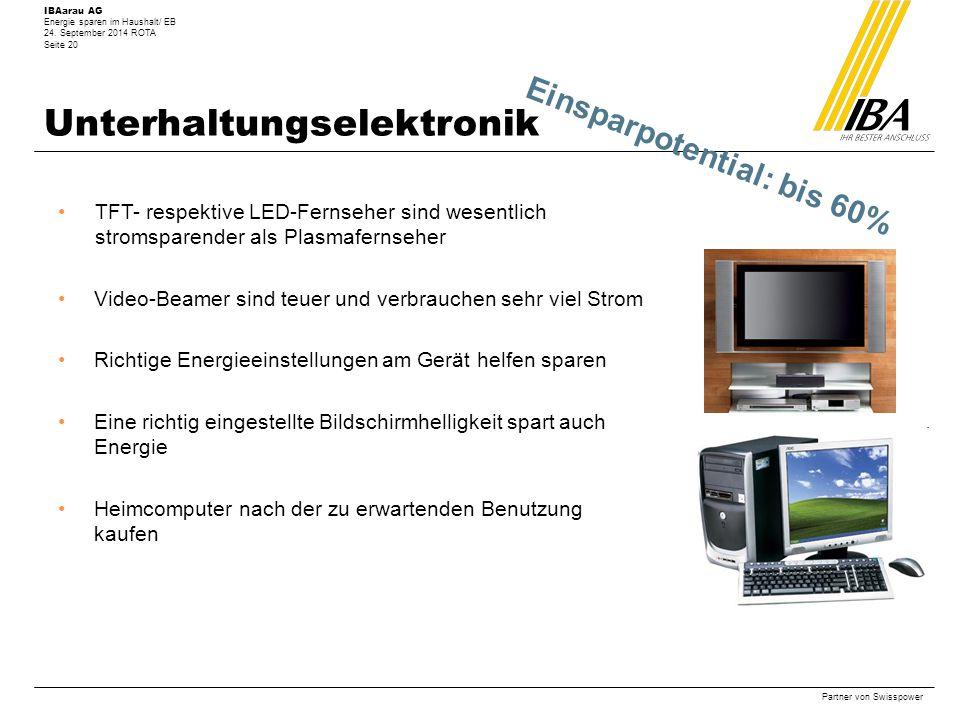 Unterhaltungselektronik
