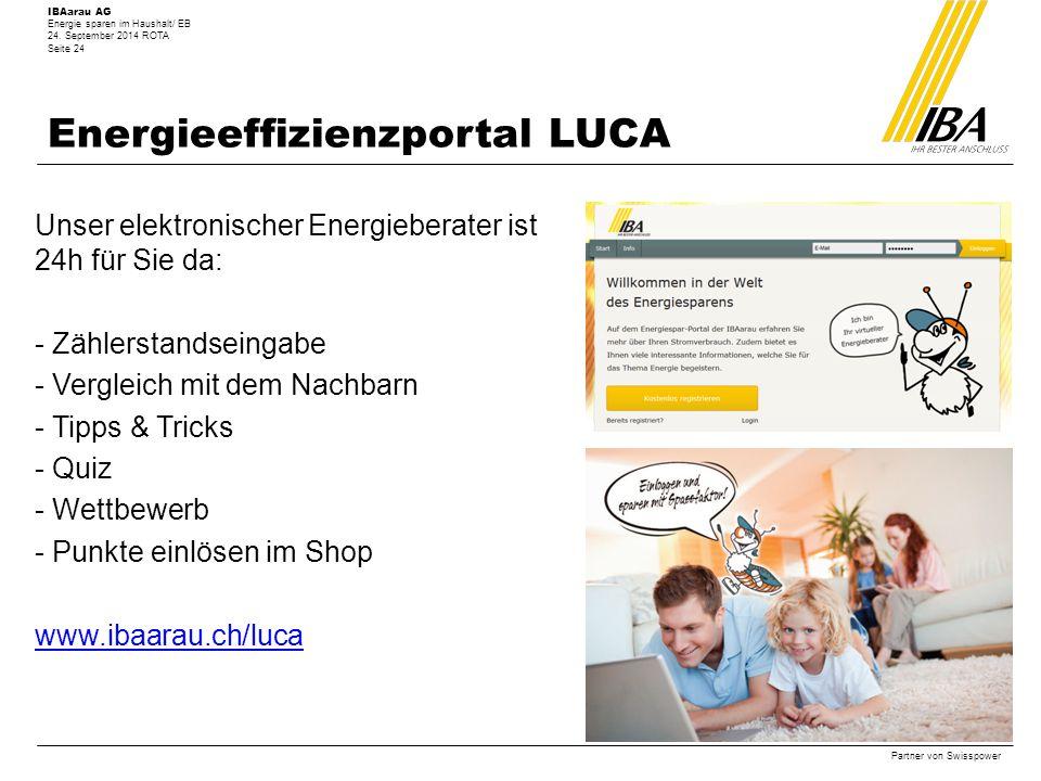 Energieeffizienzportal LUCA