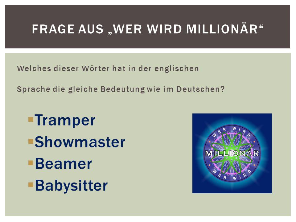 """Frage aus """"Wer wird Millionär"""