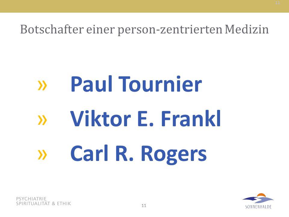 Botschafter einer person-zentrierten Medizin