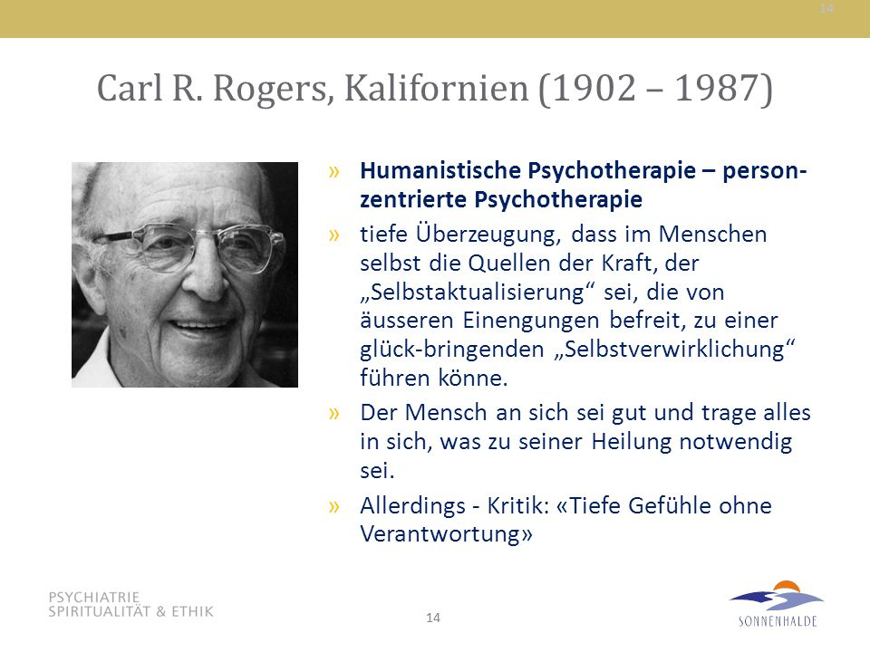 Carl R. Rogers, Kalifornien (1902 – 1987)