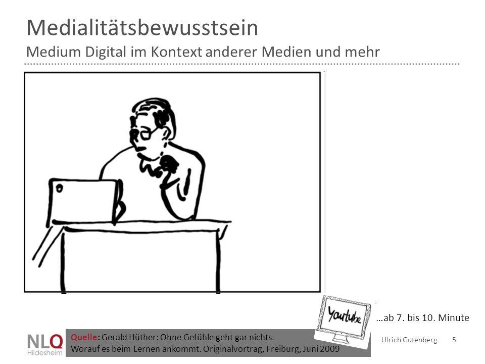 Medialitätsbewusstsein Medium Digital im Kontext anderer Medien und mehr