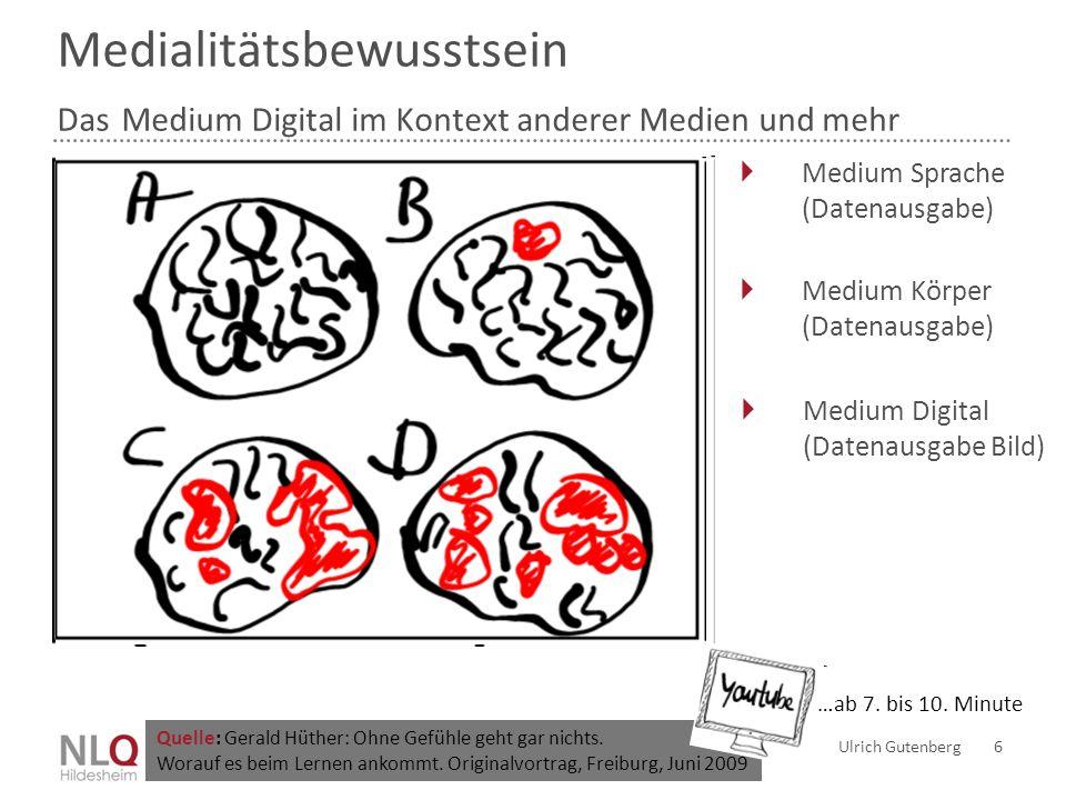 Medialitätsbewusstsein Das Medium Digital im Kontext anderer Medien und mehr