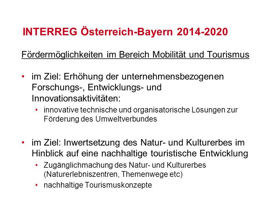 INTERREG Österreich-Bayern 2014-2020