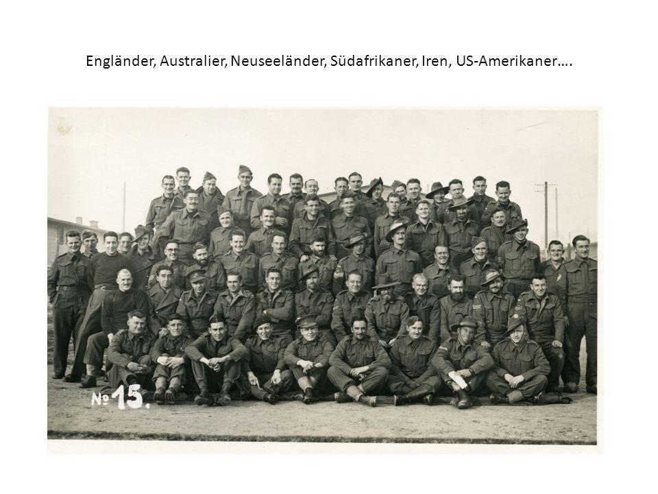 Engländer, Australier, Neuseeländer, Südafrikaner, Iren, US-Amerikaner….