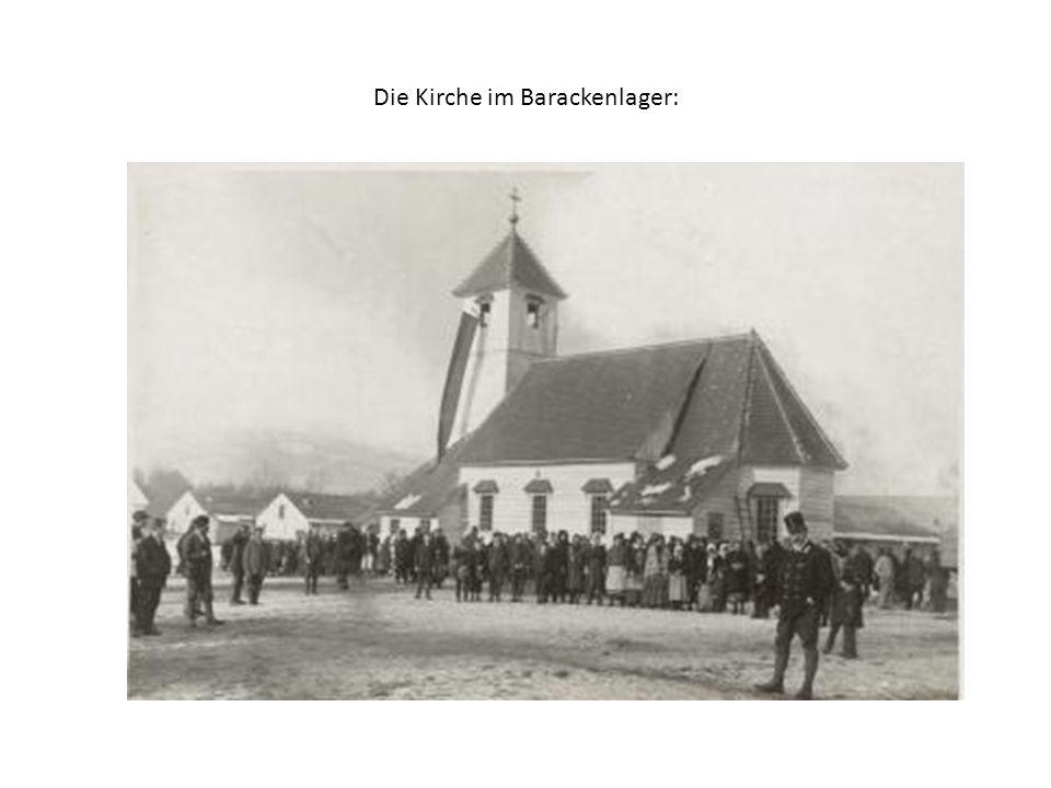 Die Kirche im Barackenlager: