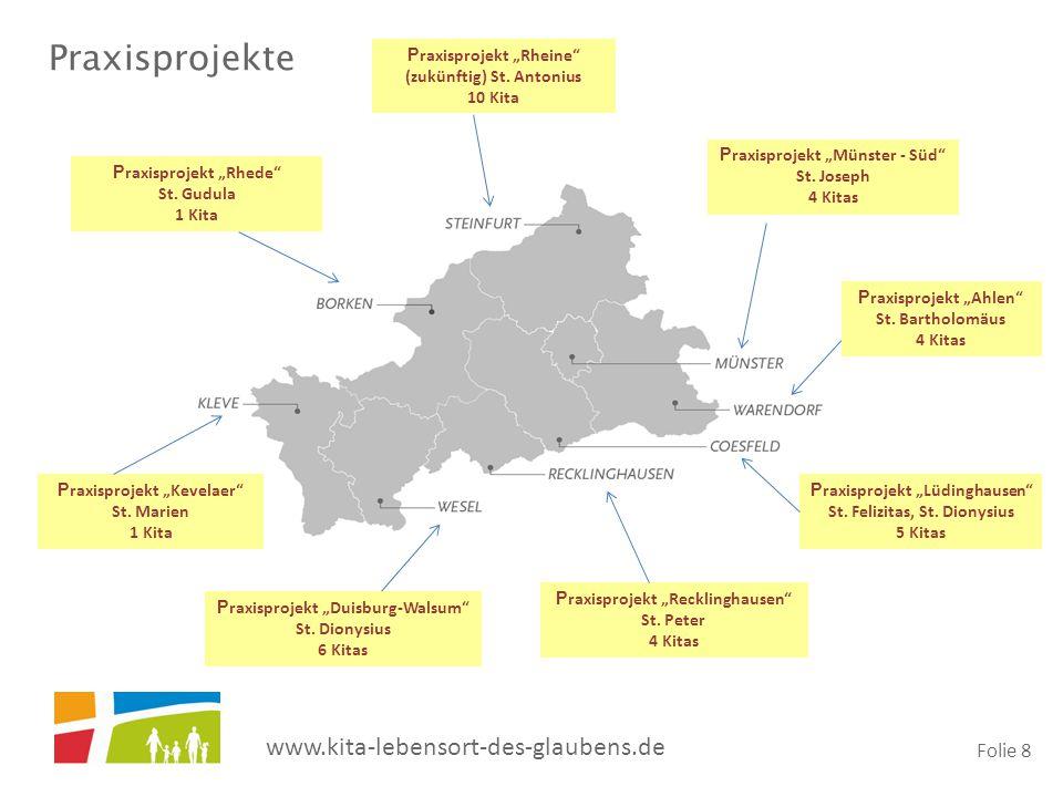 "Praxisprojekte Praxisprojekt ""Rheine (zukünftig) St. Antonius 10 Kita"