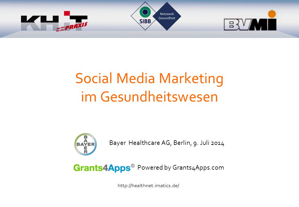 Social Media Marketing im Gesundheitswesen