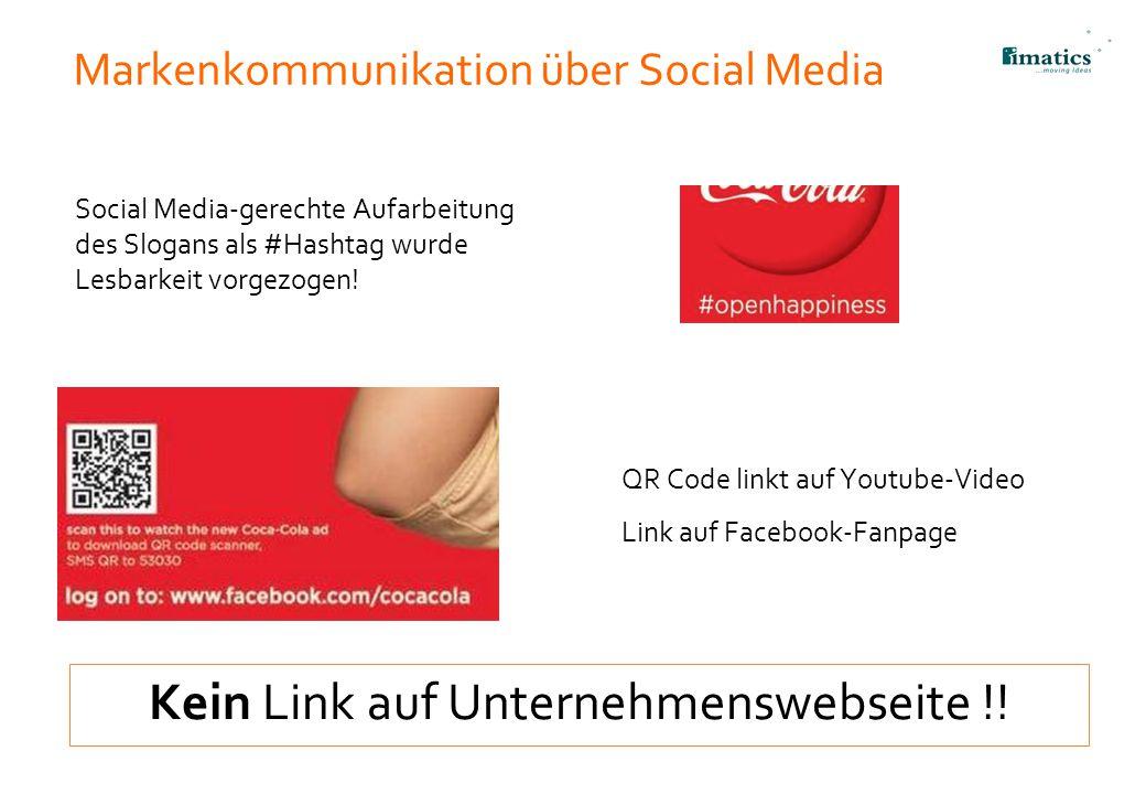 Markenkommunikation über Social Media