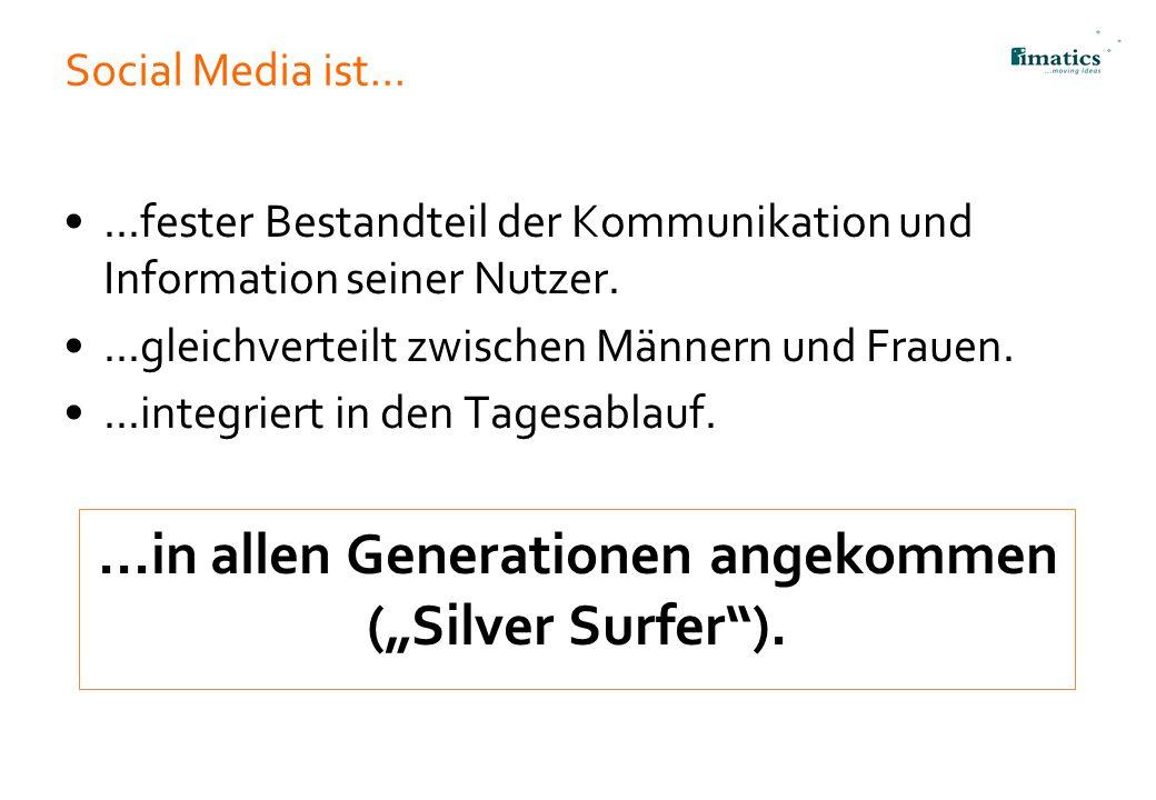 """...in allen Generationen angekommen (""""Silver Surfer )."""