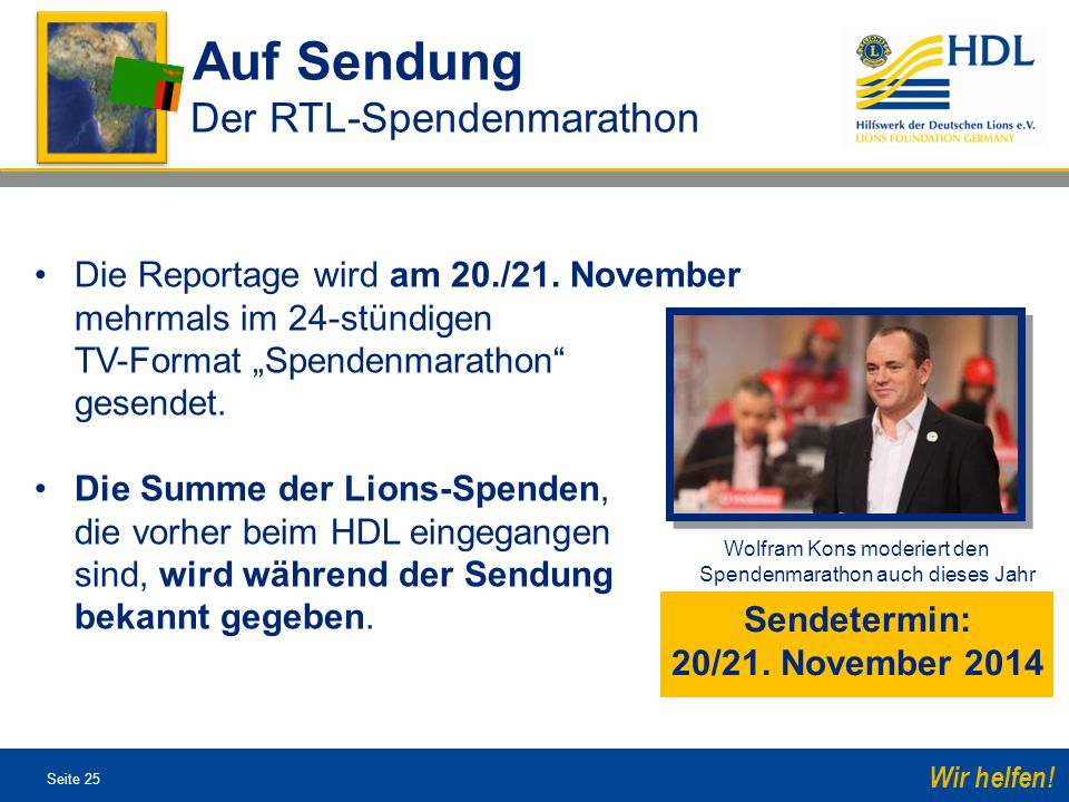 Sendetermin: 20/21. November 2014