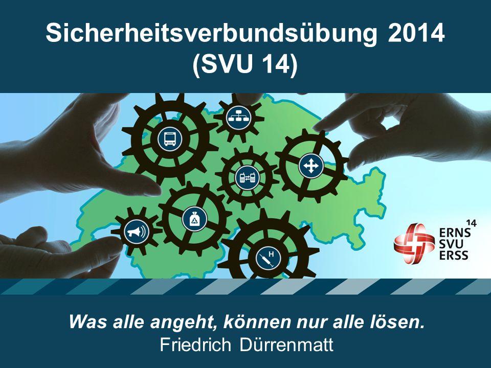 Sicherheitsverbundsübung 2014