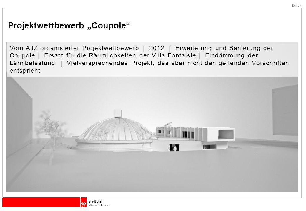 "Projektwettbewerb ""Coupole"