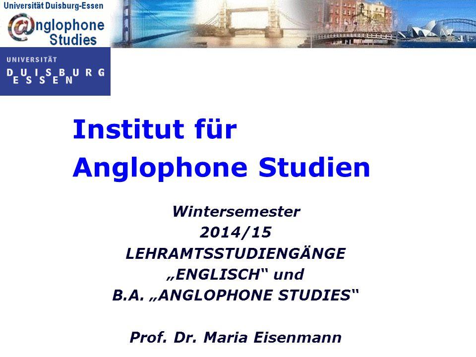 Institut für Anglophone Studien
