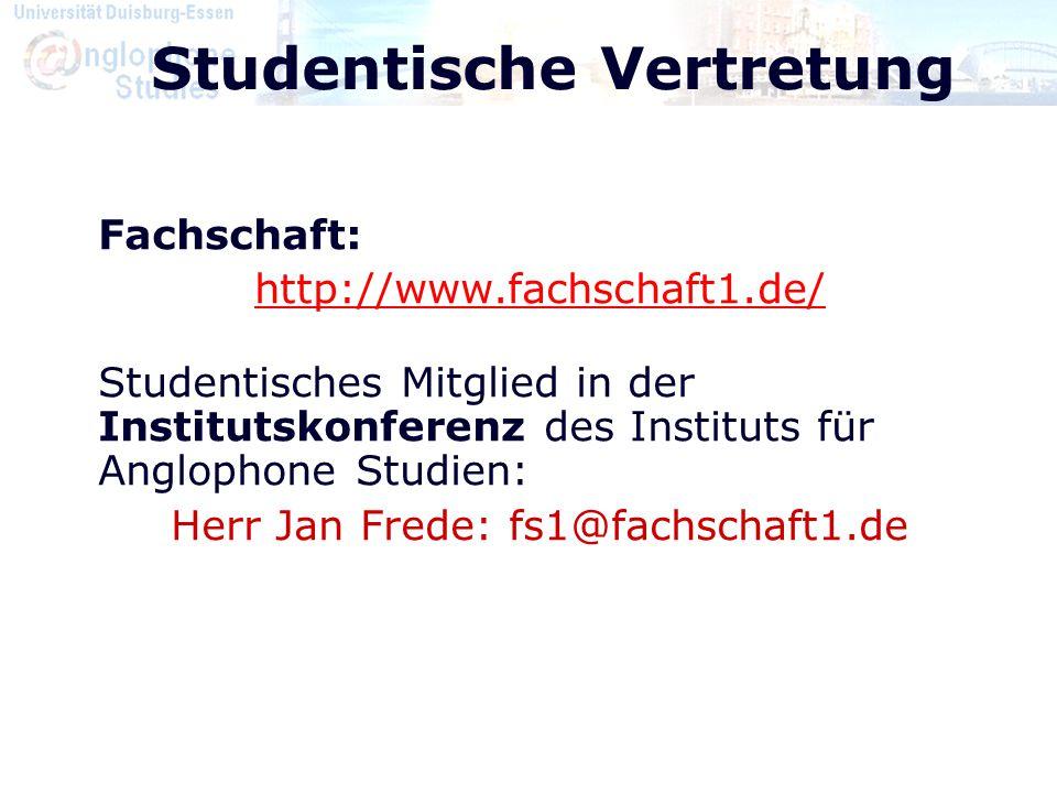 Studentische Vertretung