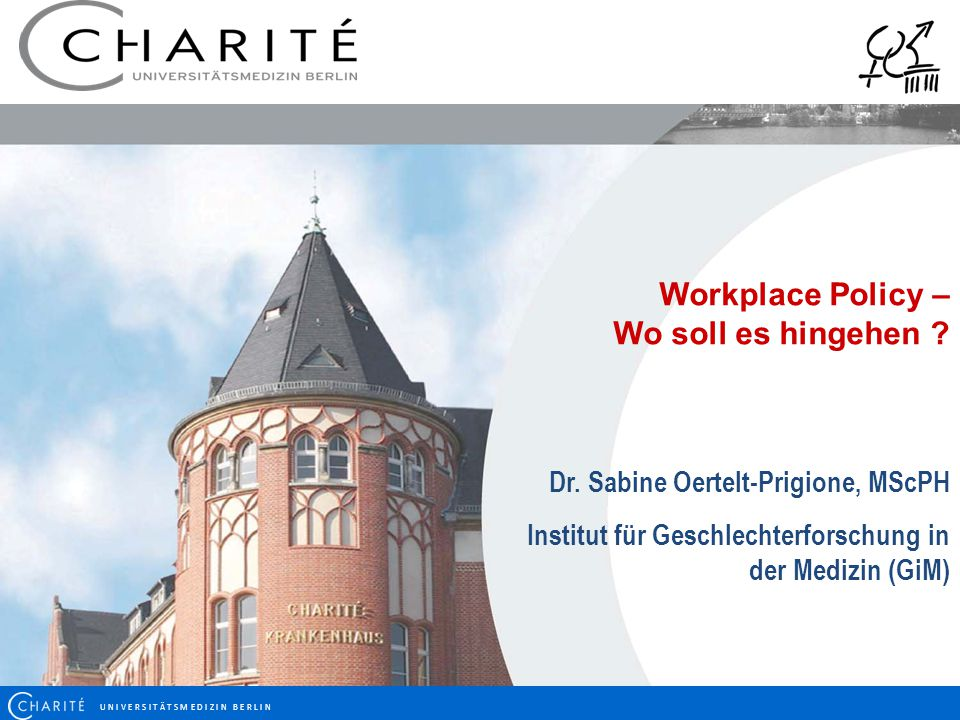 Workplace Policy – Wo soll es hingehen