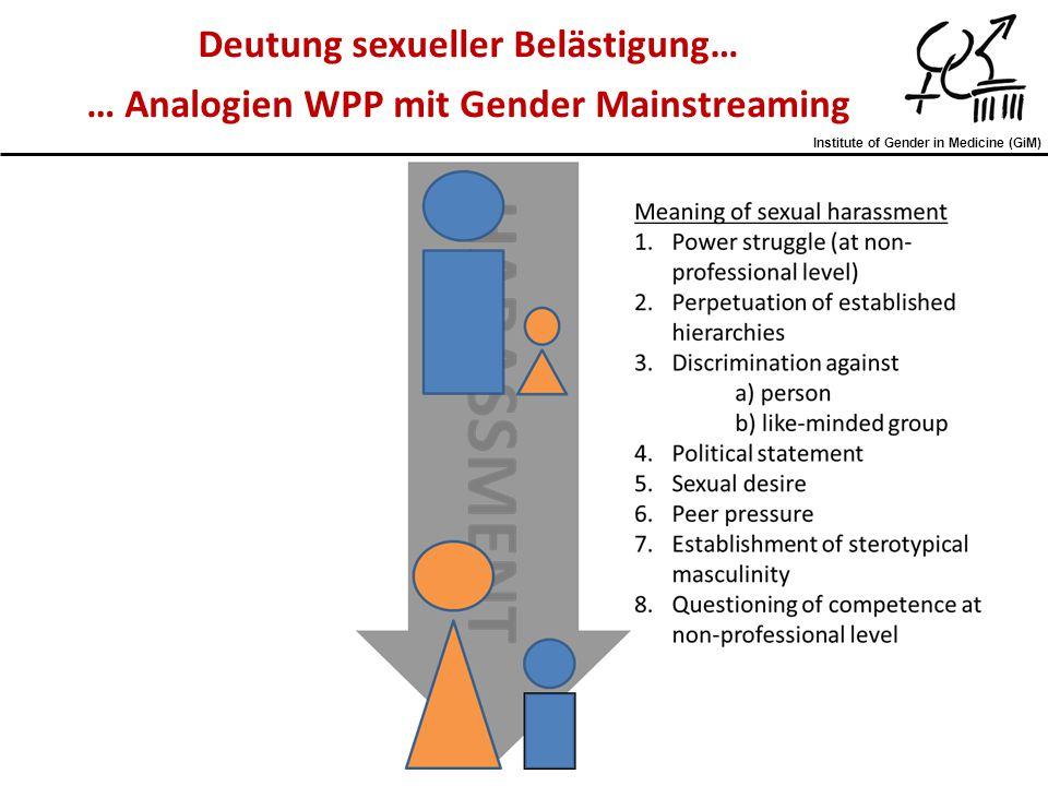 Deutung sexueller Belästigung…