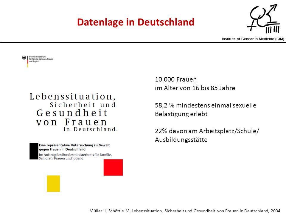 Datenlage in Deutschland