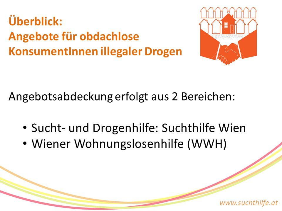 Sucht- und Drogenhilfe: Suchthilfe Wien