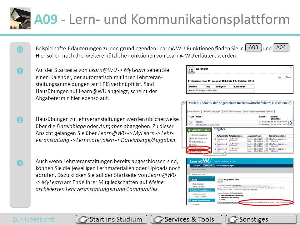 A09 - Lern- und Kommunikationsplattform
