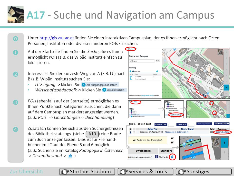 A17 - Suche und Navigation am Campus