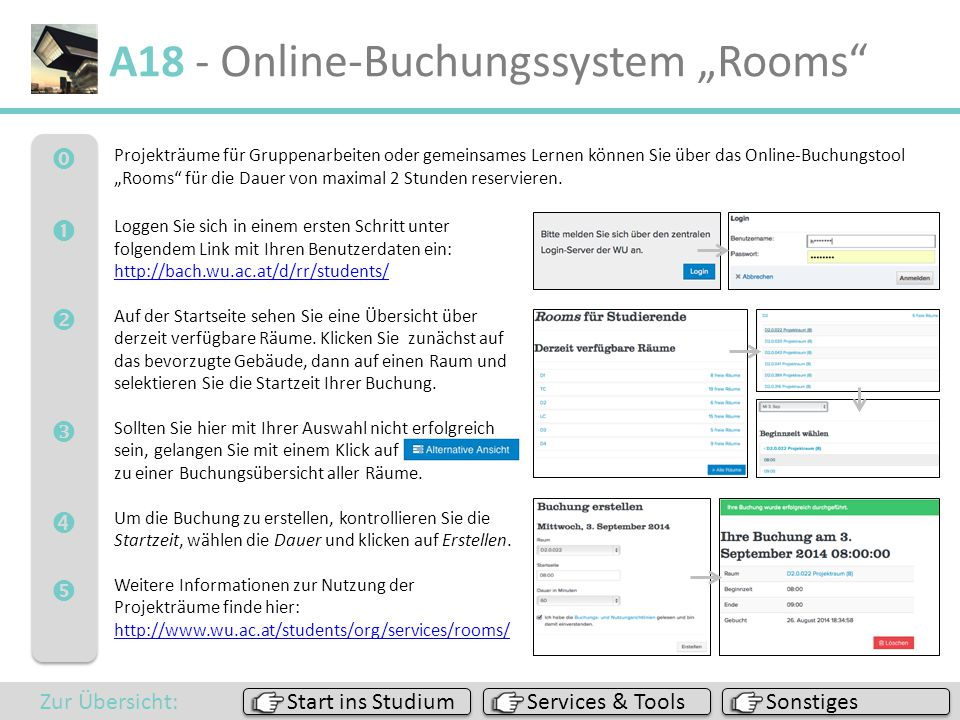 "A18 - Online-Buchungssystem ""Rooms"