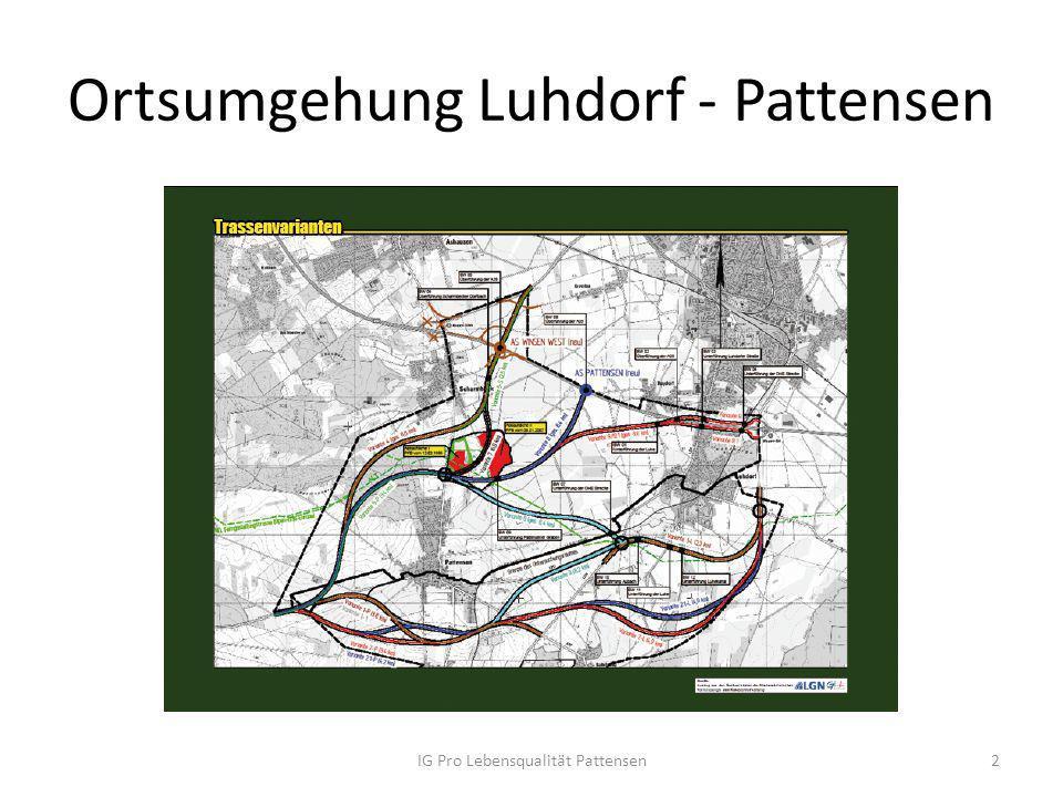 Ortsumgehung Luhdorf - Pattensen
