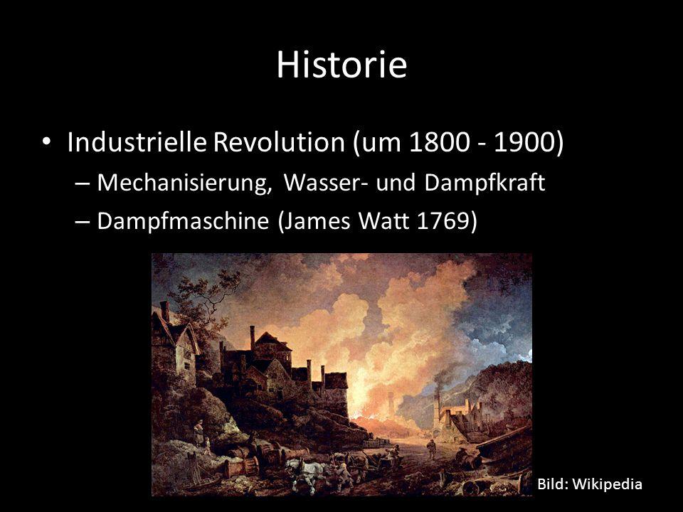 Historie Industrielle Revolution (um 1800 - 1900)