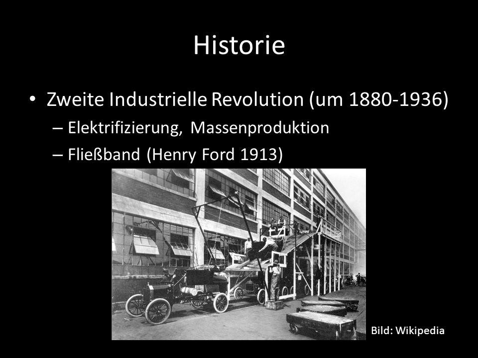 Historie Zweite Industrielle Revolution (um 1880-1936)