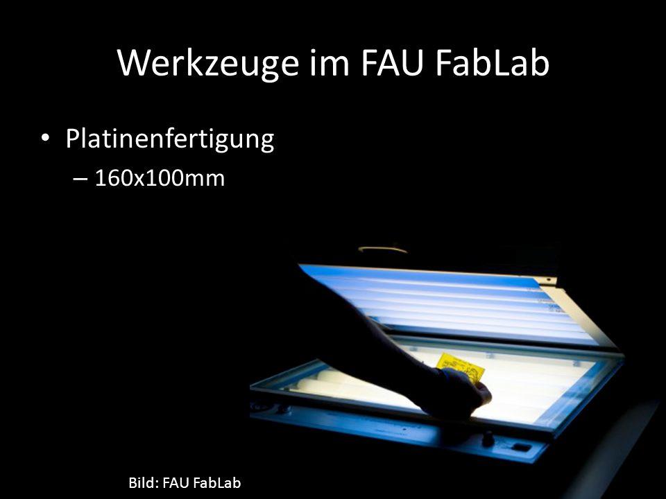 Werkzeuge im FAU FabLab