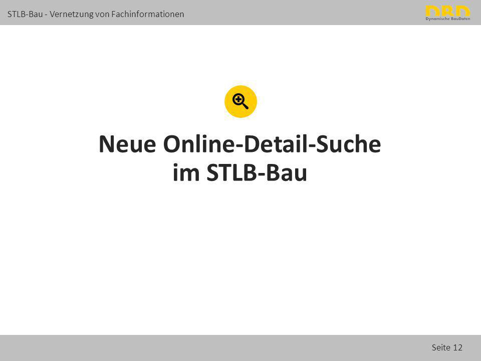 Neue Online-Detail-Suche