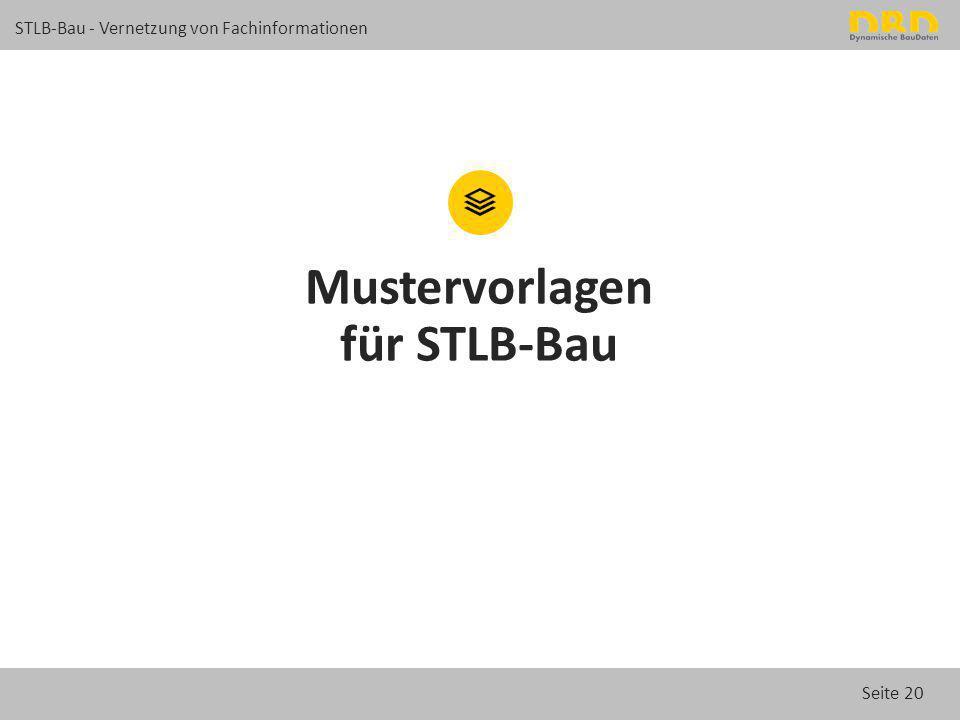 Mustervorlagen für STLB-Bau