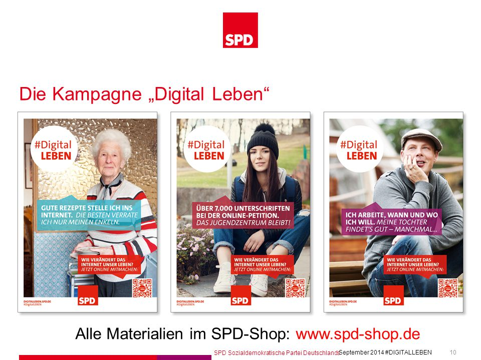 """Die Kampagne """"Digital Leben"""