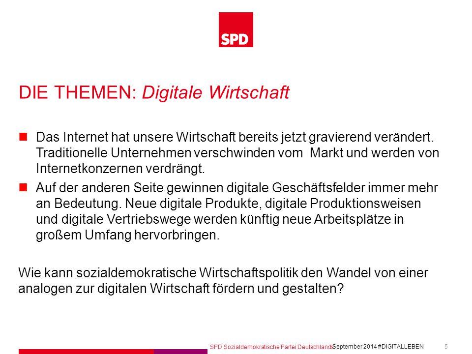 DIE THEMEN: Digitale Wirtschaft