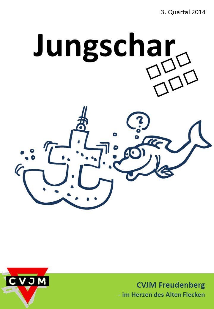 Jungschar aktuell CVJM Freudenberg 3. Quartal 2014