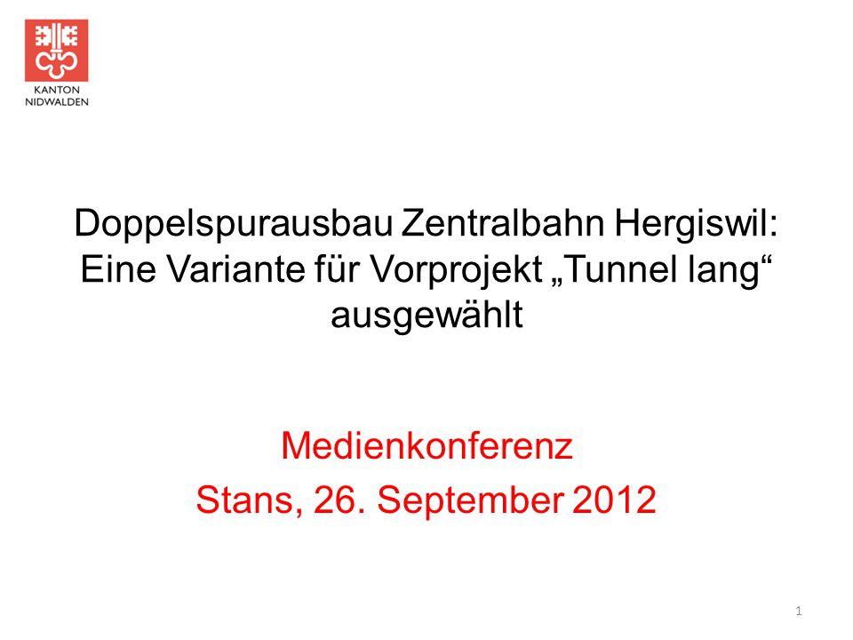 Medienkonferenz Stans, 26. September 2012