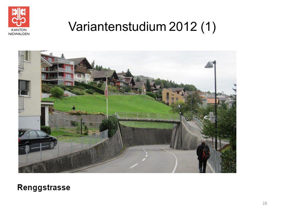 Variantenstudium 2012 (1) Renggstrasse