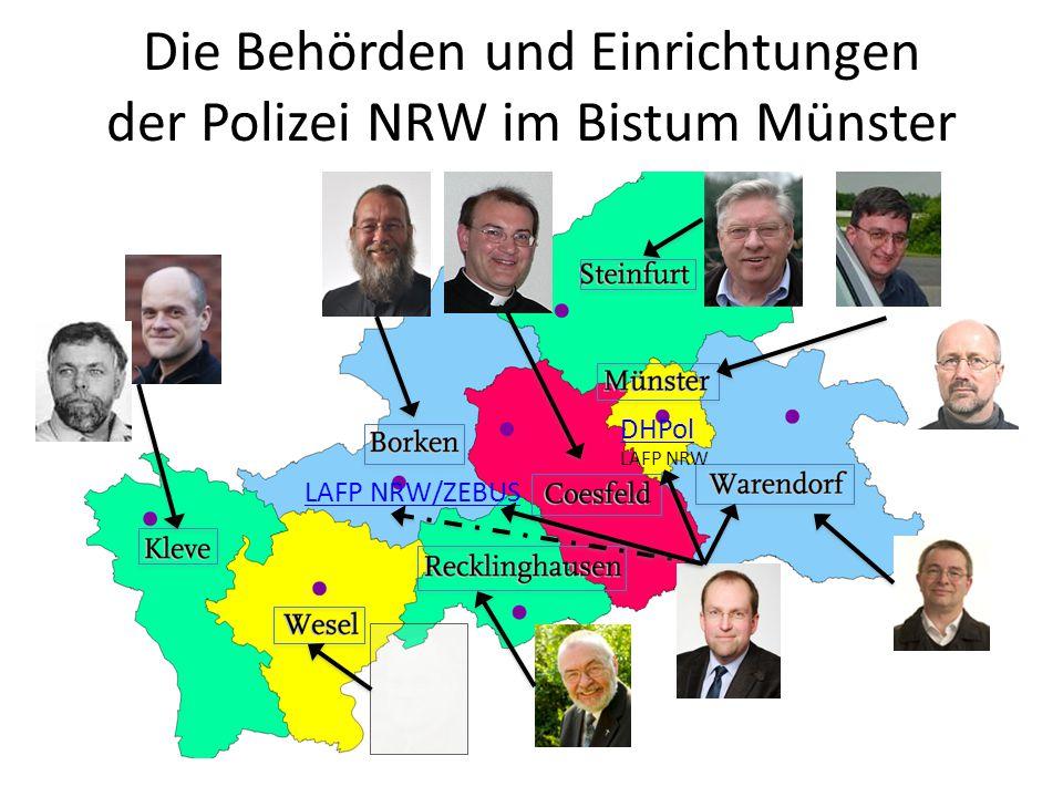 Die Behörden und Einrichtungen der Polizei NRW im Bistum Münster
