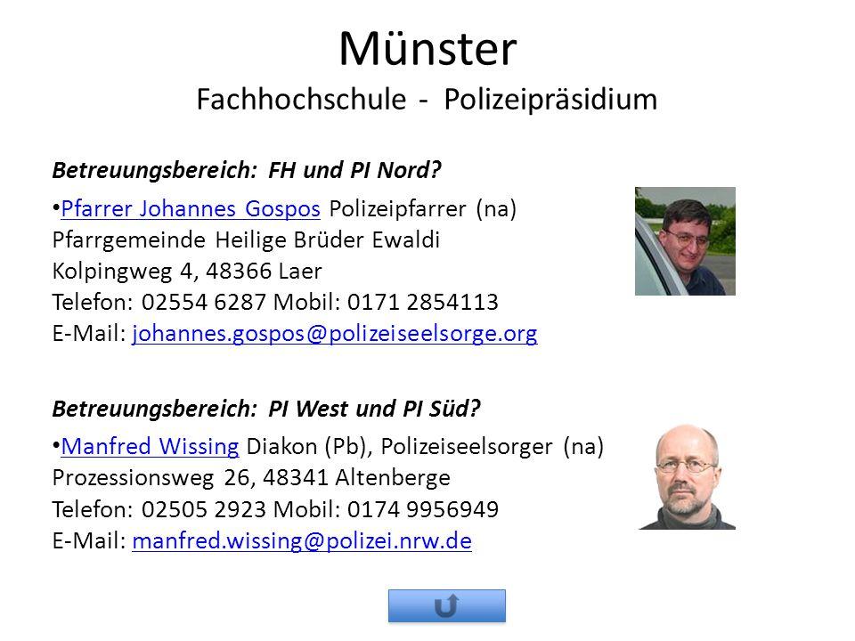 Münster Fachhochschule - Polizeipräsidium