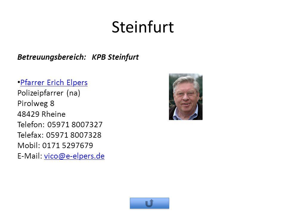 Steinfurt Betreuungsbereich: KPB Steinfurt