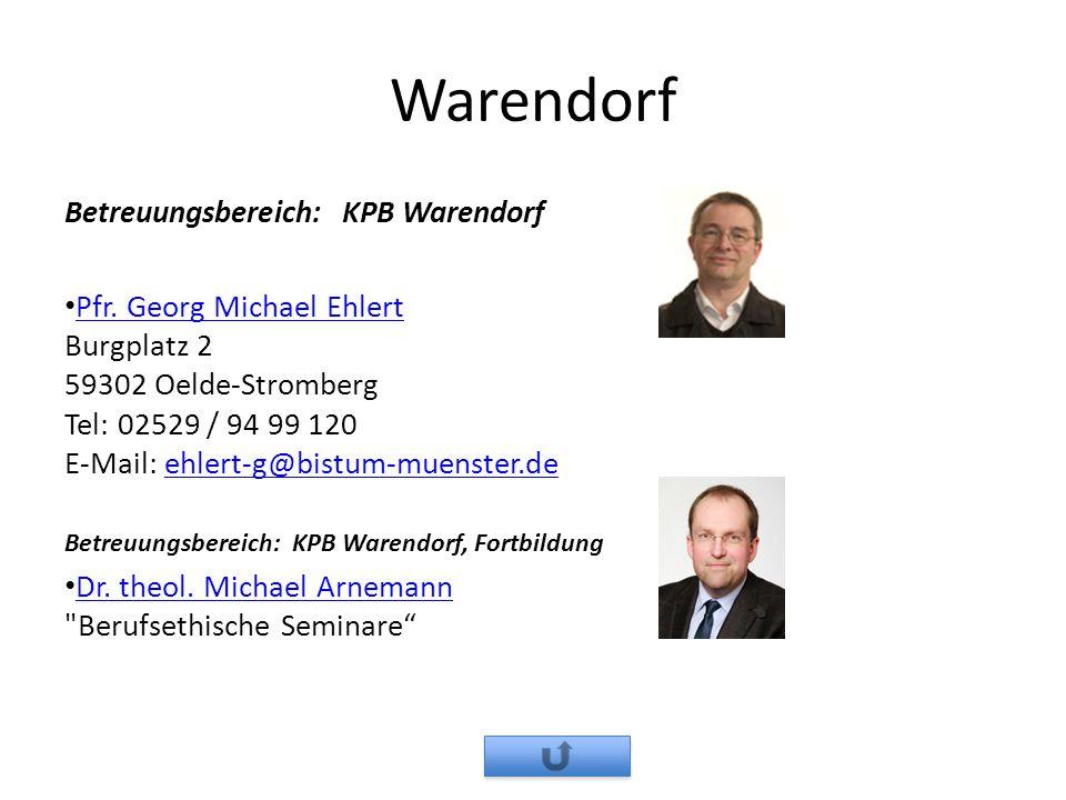 Warendorf Betreuungsbereich: KPB Warendorf