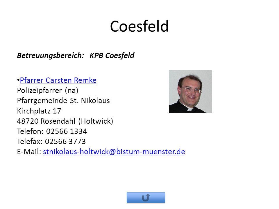 Coesfeld Betreuungsbereich: KPB Coesfeld