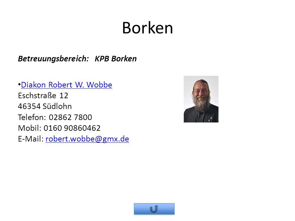 Borken Betreuungsbereich: KPB Borken
